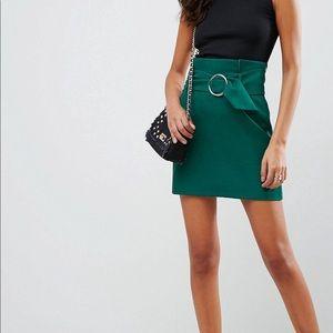 ASOS Tailored Mini Skirt with Belt